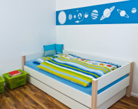 Childrens Playroom with bed