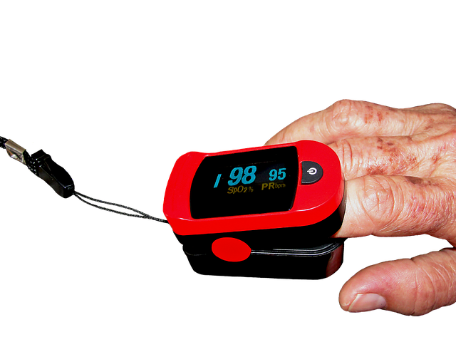 Pulsoximeter für ein Baby
